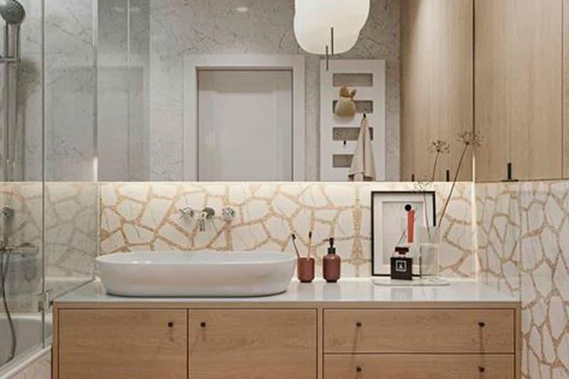 renovación exitosa del baño
